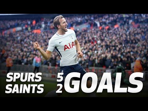 GOALS | Spurs 5-2 Southampton