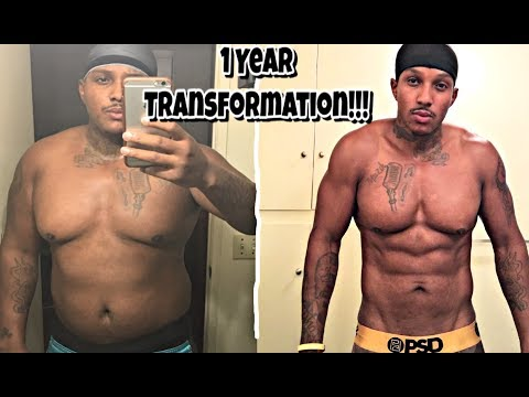 100% Full Body Transformation in only 1 Year!