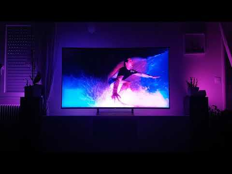 Responsive LED Backlighting for Video, Music & Games