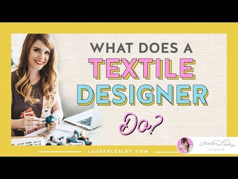 Textile Design Jobs | What Does A Fashion Designer or Textile Designer Do?