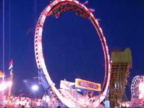 Ring of Fire ride at the Delaware State Fair