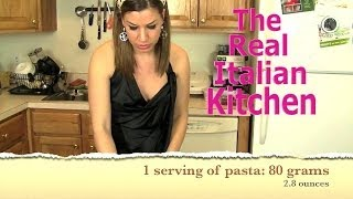 Pasta Recipe: Shrimp And Asparagus - Real Italian Kitchen -