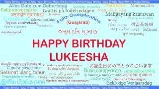 Lukeesha   Languages Idiomas - Happy Birthday