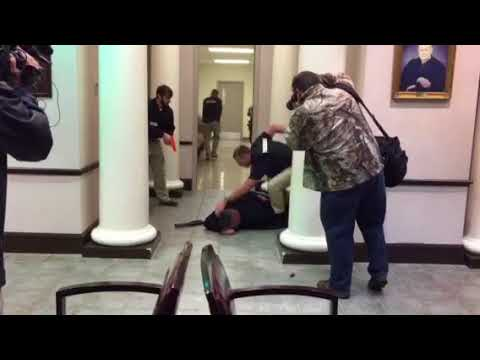 Active Shooter Drill - Etowah County Courthouse
