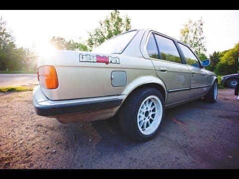 BMW E30 drift practice
