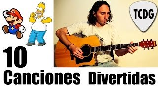 10 Canciones Fáciles y Divertidas Para Guitarra Acústica #1 TCDG thumbnail