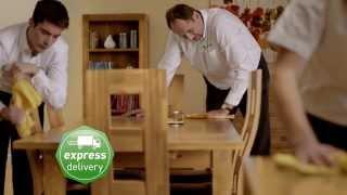 Oak Furniture Land Winter Sale Advert 2013 | Preparation