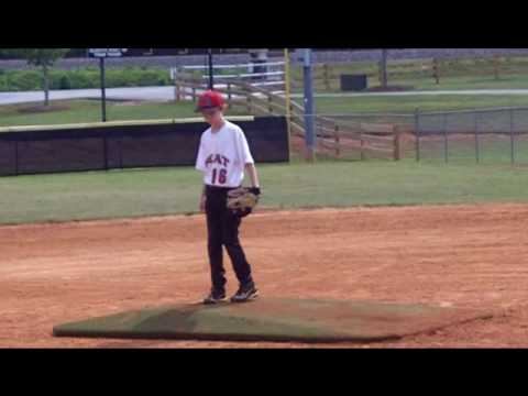 Sam Sly Pitching in the 5/29 Wood Bat Classic