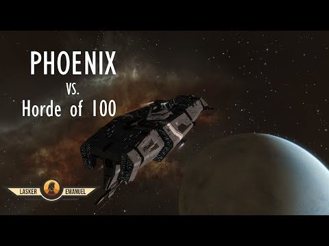 EVE Online Solo PvP: Phoenix vs Horde of over 100