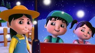 Deck os salões | natal canções para crianças | feliz Natal | Xmas Carols | Deck the Halls In English