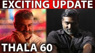 Official | WOW Super Exciting Update | Thala – 60 | Ajith Kumar | Vijay Sethupathi