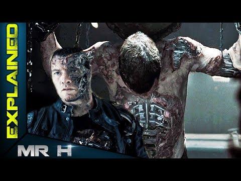 Terminator Human HYBRID Terminator Salvation - Marcus Wright Explained