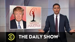 The Daily Show - Donald Trump Doubles Down on Fat-Shaming Miss Universe
