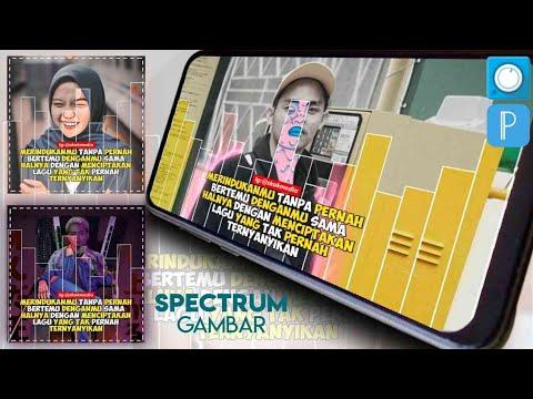 Cara Membuat Audio Spectrum Quotes Keren di Avee Player