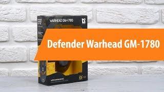 Распаковка Defender Warhead GM-1780 / Unboxing Defender Warhead GM-1780