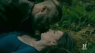 Vikings - 5x06 Astrid and King Herald make out session