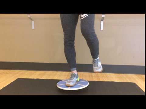 Balance Board Exercise #5: Single Foot Balance