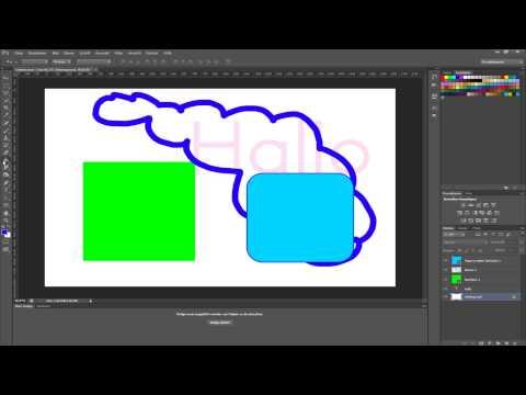 Adobe Photoshop CS6 Grundlagen - Arbeiten mit Ebenen [Deutsch/German] [HD]