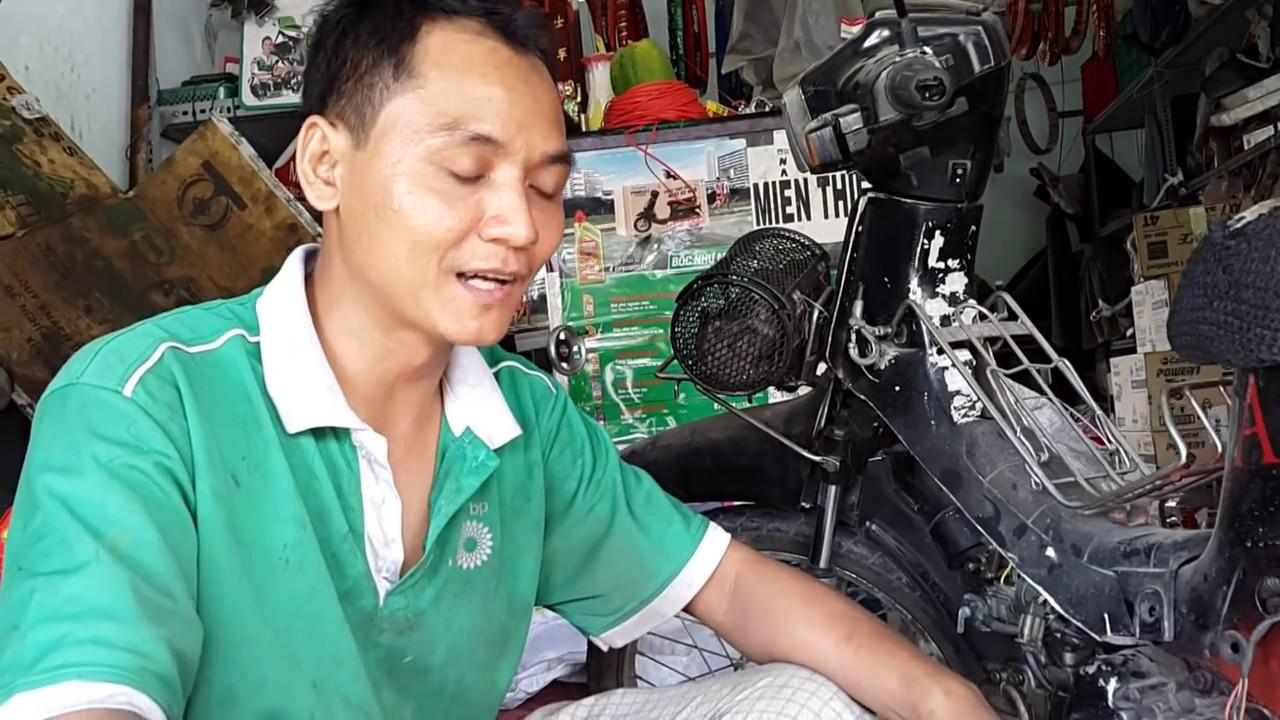 Sửa xe Cùi Bắp _khắc phục hiện tượng đứt bóng đèn xe máy