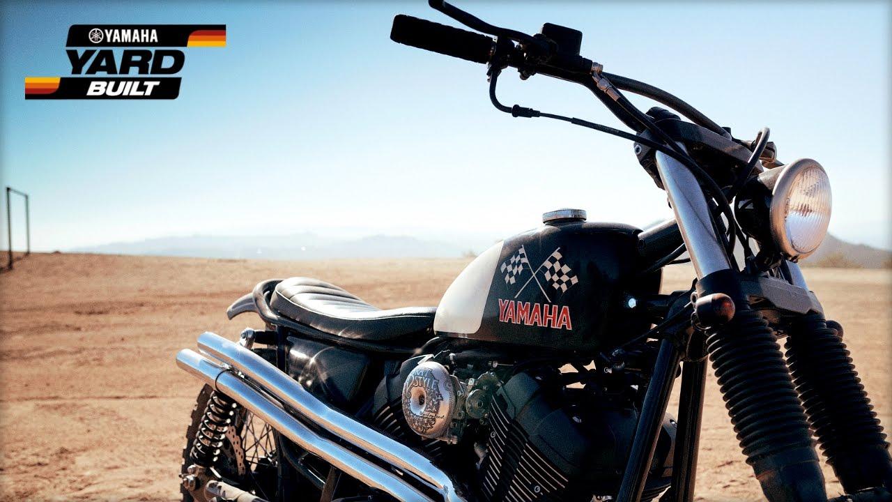 Yamaha Yard Built - SCR950 Chequered Scrambler
