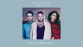 Zedd/Alessia Cara Vs. James Arthur -