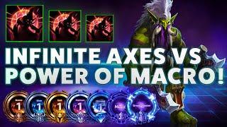 Zuljin TazDingo - ÏNFINITE AXES VS POWER OF MACRO - B2GM Season 7(Silver 4)