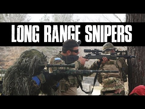 Long Range Airsoft Snipers