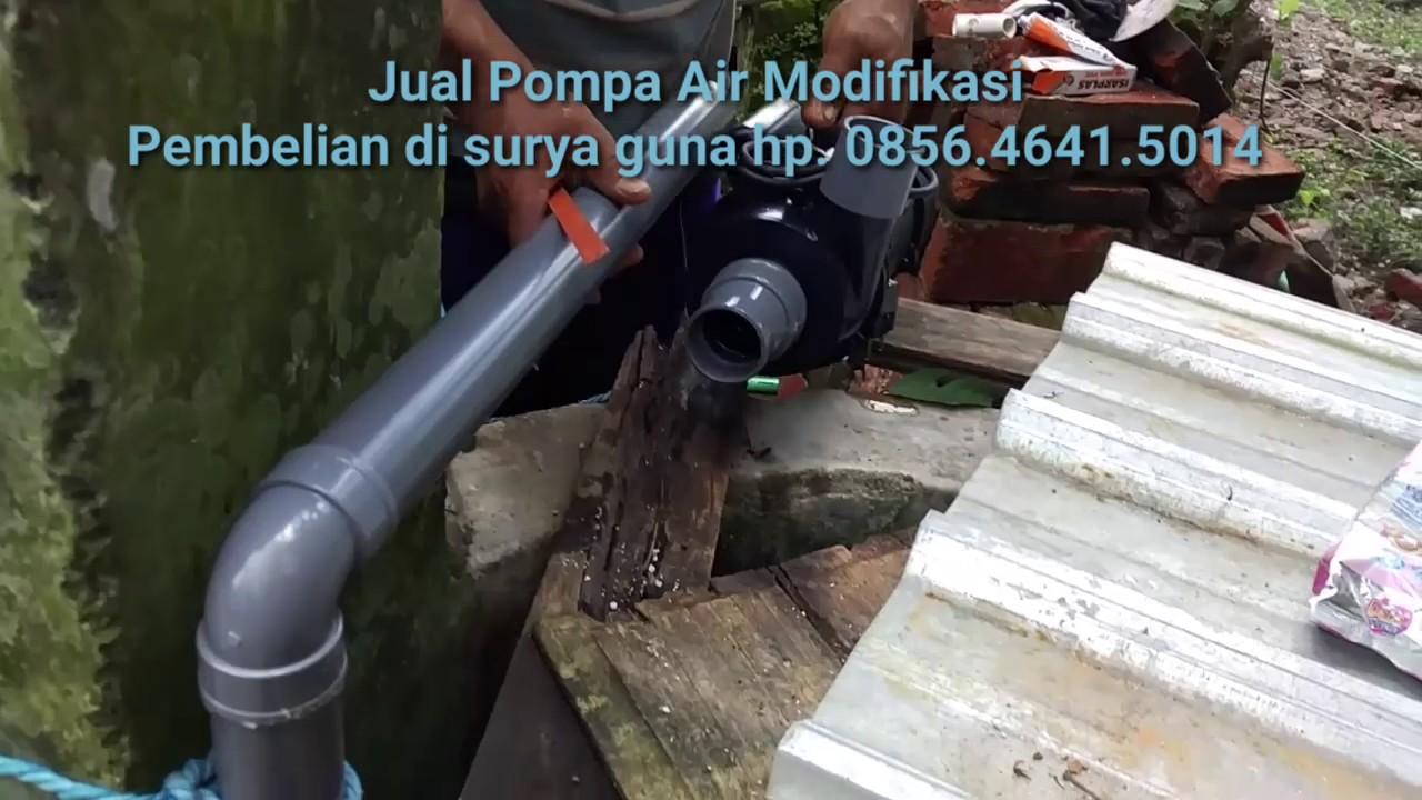 Cara Penggunaan Pompa Air Modifikasi Kolam Ikan