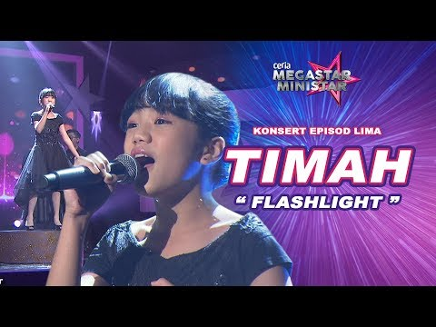 Terserlah Hebat Timah Dengan Flashlight | Flashlight | Ceria Megastar Ministar