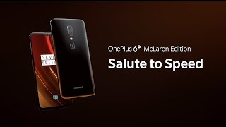 OnePlus 6T McLaren Edition Salute to Speed