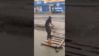 Funny drunk man Kenya
