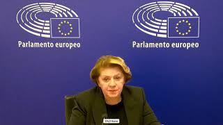 Intervento in Plenaria dell'europarlamentare Caterina Chinnici sui diritti sui minori.