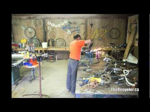 Bicycle Table Build - Time Lapse