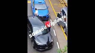 8Jul2020 NEX Taxi Stand / drop off PHV #SMA3120H vs PHV #SGV3335R