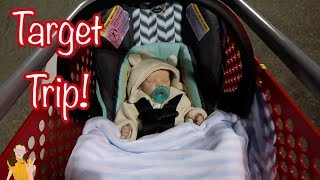 Custom Reborn Baby Outing to Target! Realistic Doll Shopping | Kelli Maple