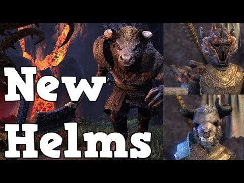 ALL Horns of the Reach MONSTER HELMS l ESO