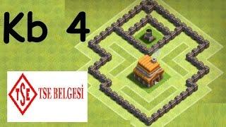 Köy Binası 4 Kupa ve Klan Savaşı Düzeni (ETKİLİ) - Clash of Clans