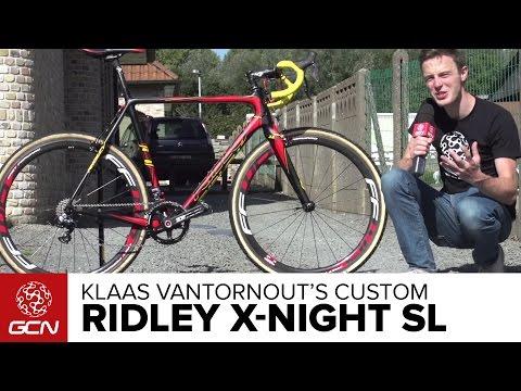 Klaas Vantornout's Belgian Champion Ridley X-Night SL Cyclocross Bike
