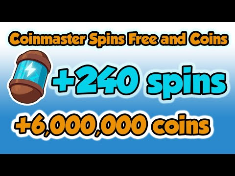 Coinmaster spins free and coins links 01.12.2020