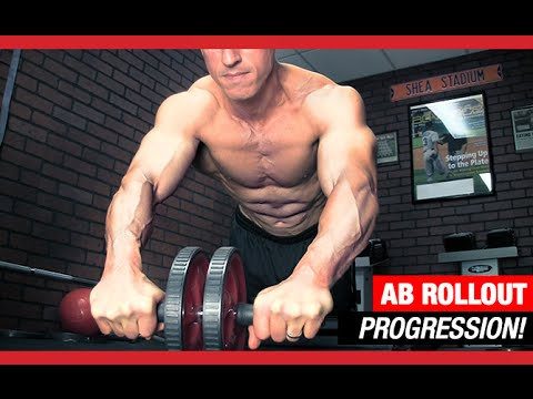 The Ultimate Ab Rollout Progression (BEGINNER TO ADVANCED!)
