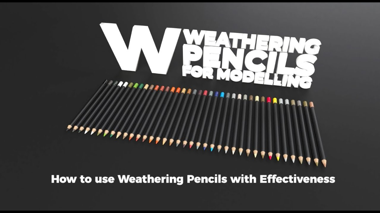 Weathering #pencils!! from AK-INTERACTIVE: