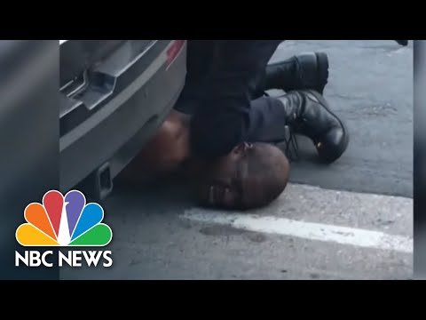 Minneapolis Officers Fired After Death Of Man Who Pled For Air   NBC Nightly News