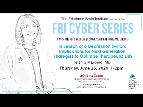 FBI Cyber Series - Implications for Next Generation Strategies to Optimize Therapeutic DBS