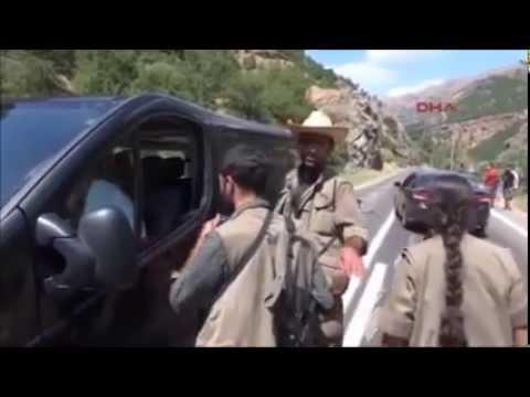 PKK Dersim Tunceli de Özerklik İlan Etti