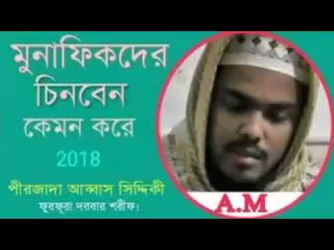 Pirzada Abbas Siddiqui bhaijaan new Jalsa 2018****new bangla waz