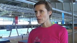 Легкая атлетика. Командный чемпионат Украины. Вита Степина о возвращении в сектор