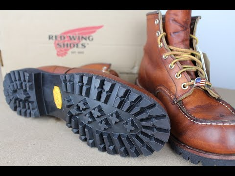 RED WING 875 MOC TOE : Resole with Vibram Lug