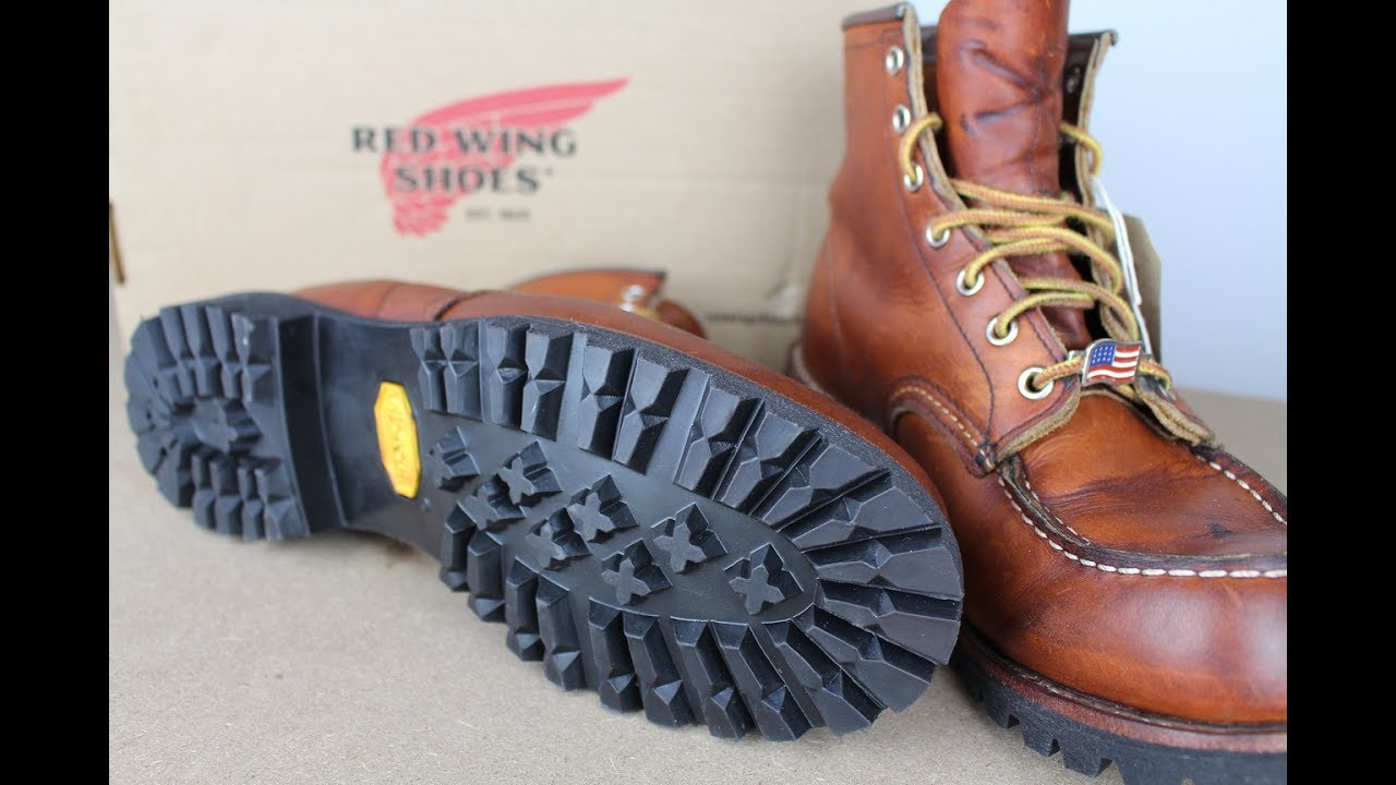 red wing 875 moc