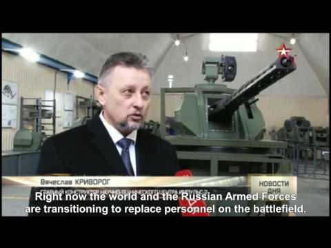 Uran-9 New Russian Unmanned Remote Land Battle Drone Robotic Military Technology
