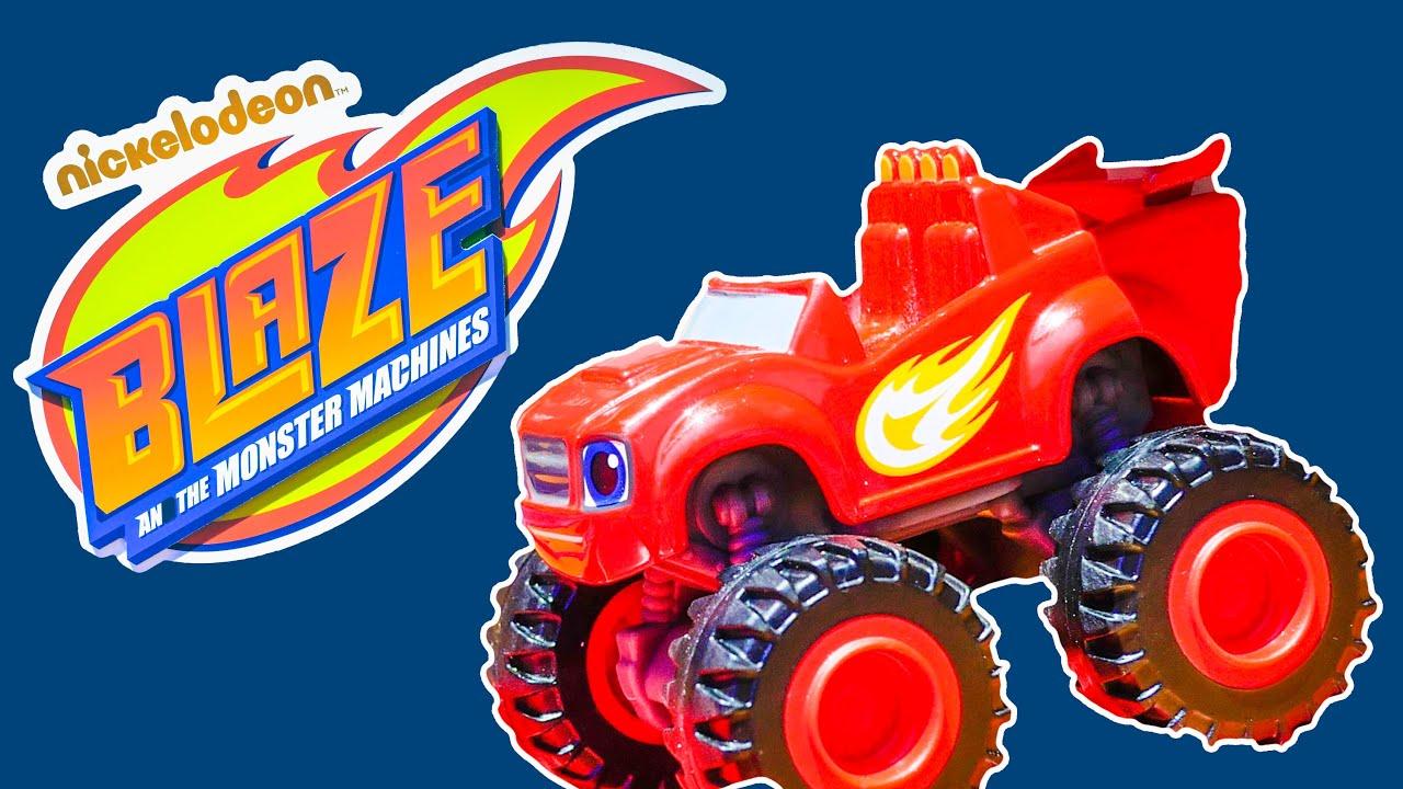 Blaze nickelodeon blaze and the monster machines truck a blaze video